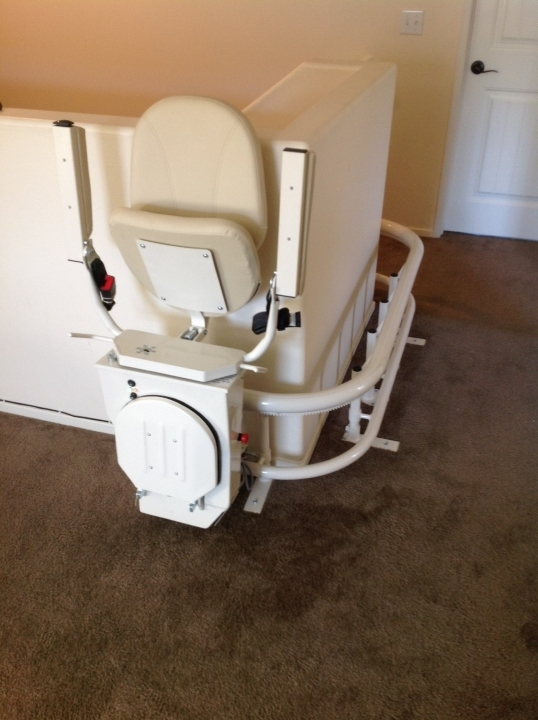 Harmar csl500 helix curved stair lift