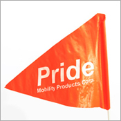 Pride Safety Flag