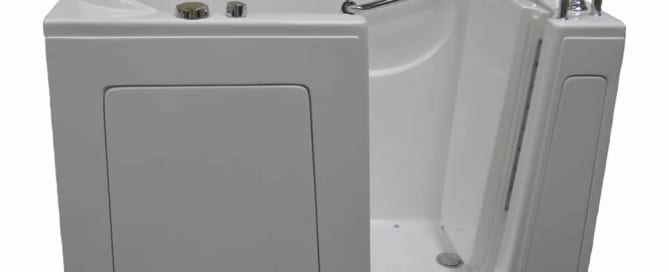 An image of a walk-in tub from Western Stairlifts