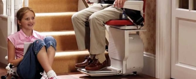 An image of a stair lift - Western Stairlifts
