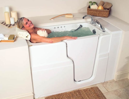 Enjoy Hydrotherapy in a Walk-In Tub